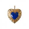 SOHO HEART CHARM – LAPIS
