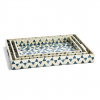 Blue & White – Mother of Pearl Gallery Tray