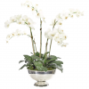 Faux Orchid in Planter